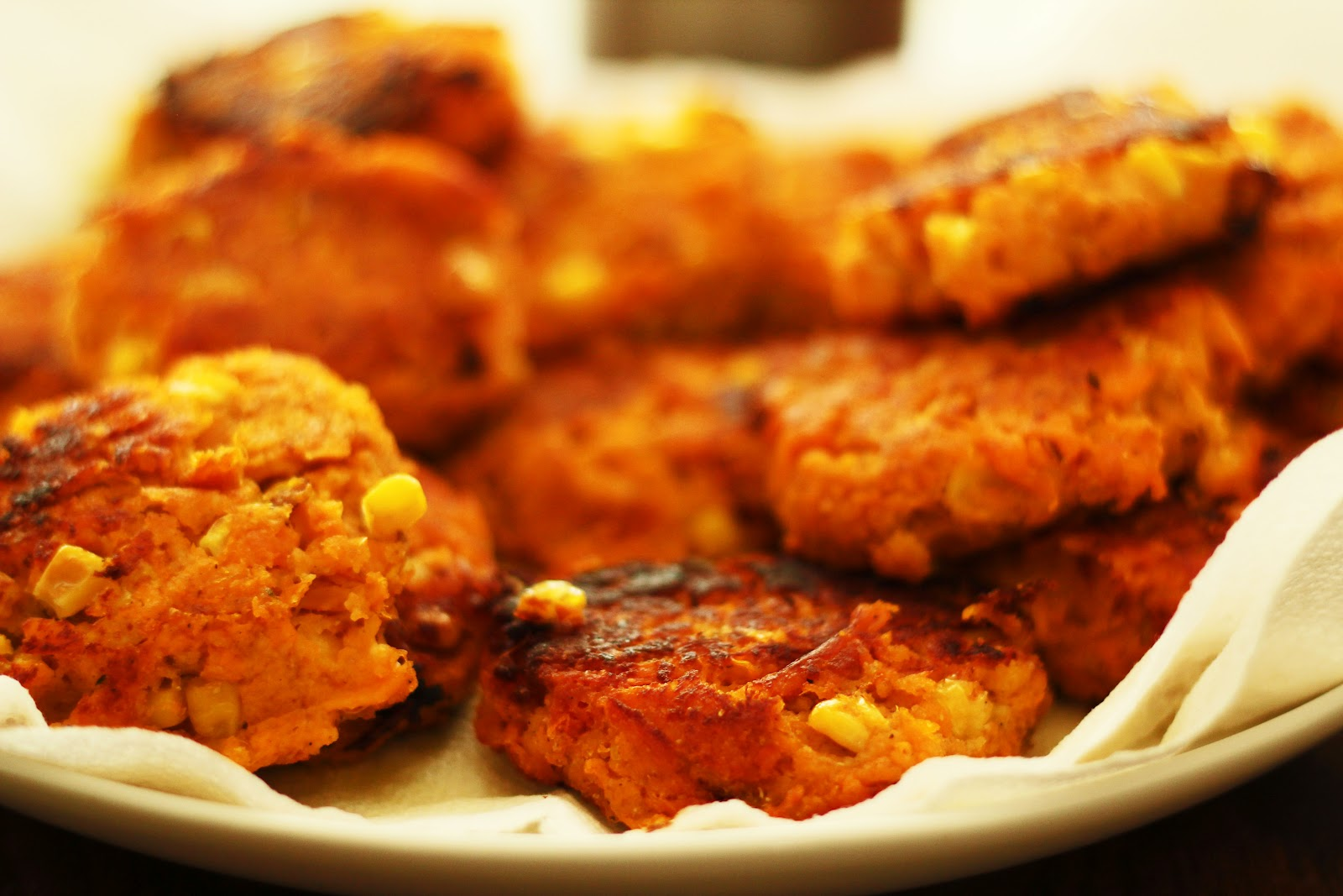 Emry at Home: Sweet Potato Corn Cakes