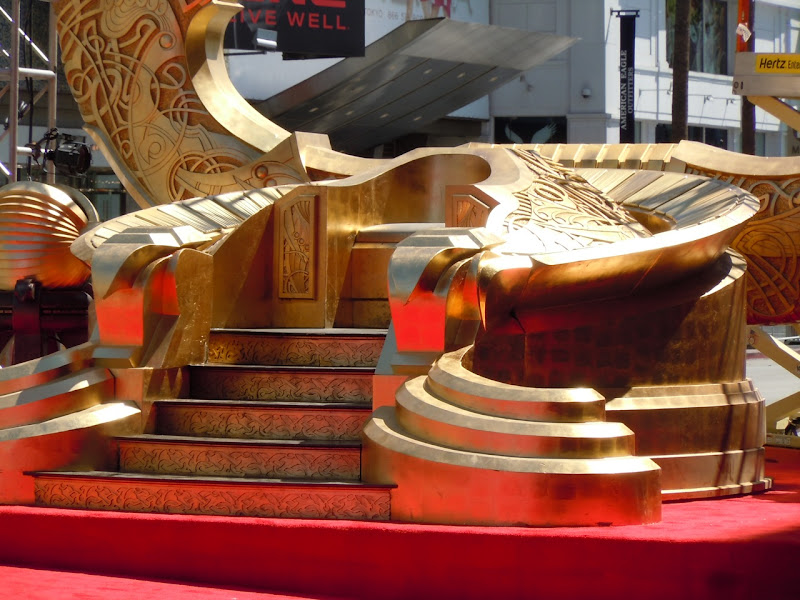Odin's Throne Thor movie prop
