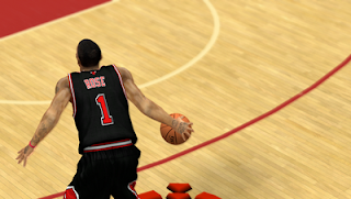 NBA 2K13 Chicago Bulls Alternate Jersey Mods