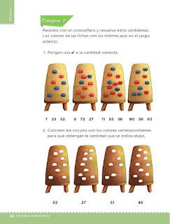 Apoyo Primaria Desafíos Matemáticos 1er Grado Bloque 4 Lección 44 Juguemos al cajero