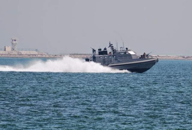 Military News - Sailors drive potent new riverine boat in Persian Gulf