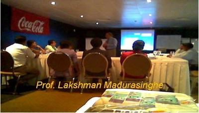 Prof Lakshman Madurasinghe