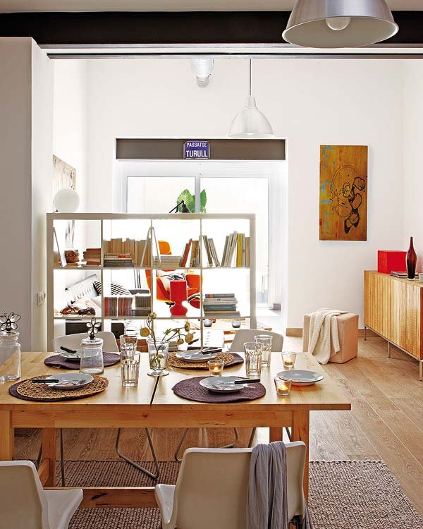Design insider ideas para equipar espacios chicos for Como separar cocina de comedor