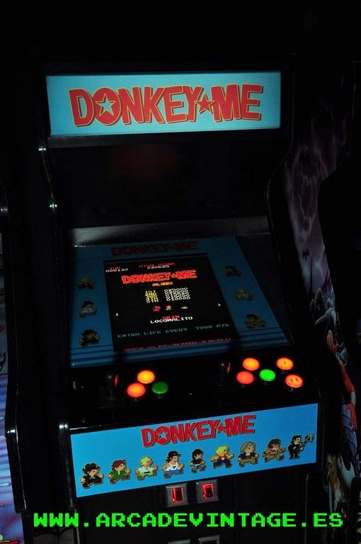 Mquinas Arcade: Fabricacin y venta de recreativas