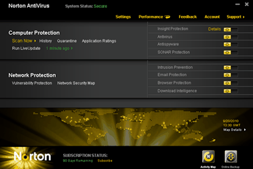 Norton Antivirus 2011 review