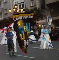 Comparsa Uruguay -Carnval vigo 2012