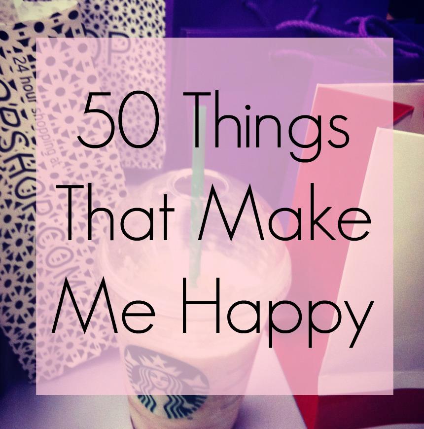 3 things that make me happy essay