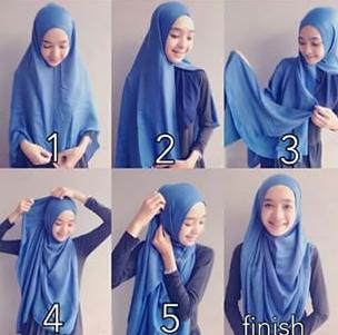 Koleksi Tutorial Hijab Modern Syar'i
