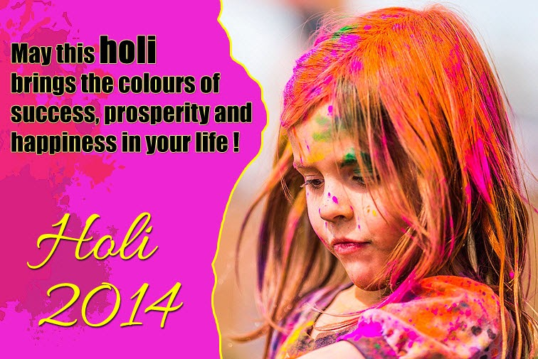 Happy Holi 2014 greeting Wallpapers