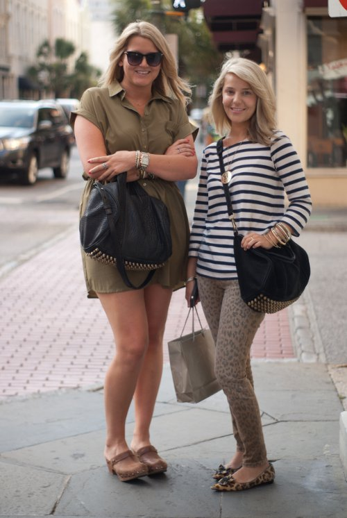 Southern fashion, southern street style, Charleston street style