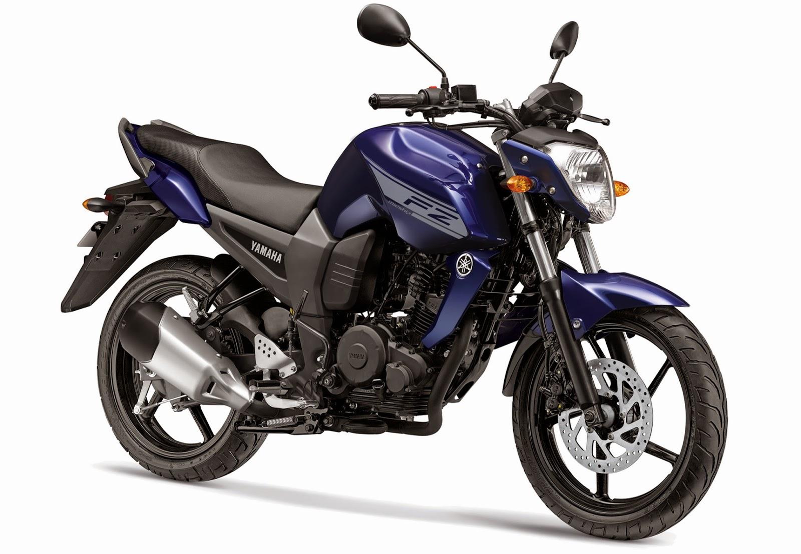 Yamaha FZ16 color brute blue
