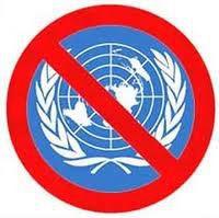 Para o bem do mundo diga NÃO A ONU