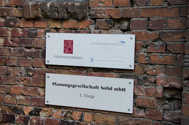 Baustelle Ziegelstraße 20, 10117 Berlin, 23.06.2013