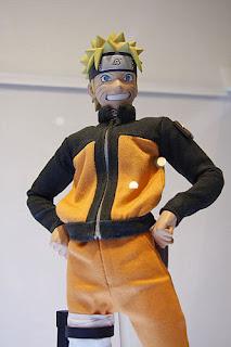 RAH Naruto Shippuuden - Naruto Uzumaki