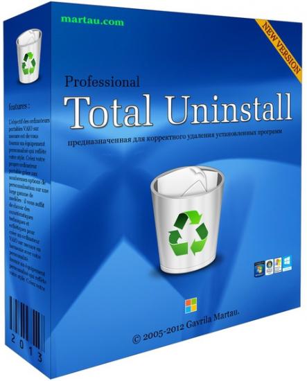 Total Uninstall Pro v6.12.0 (x86) Multilanguage - Phần mềm gỡ bỏ ứng dụng hàng đầu