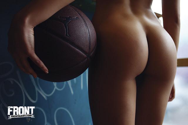 Lacey Banghard - Nude on Front Magazine