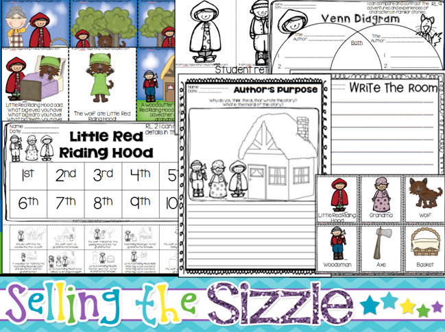 http://www.teacherspayteachers.com/Product/Little-Red-Riding-Hood-A-Common-Core-Aligned-Fairy-Tale-Unit-1208864