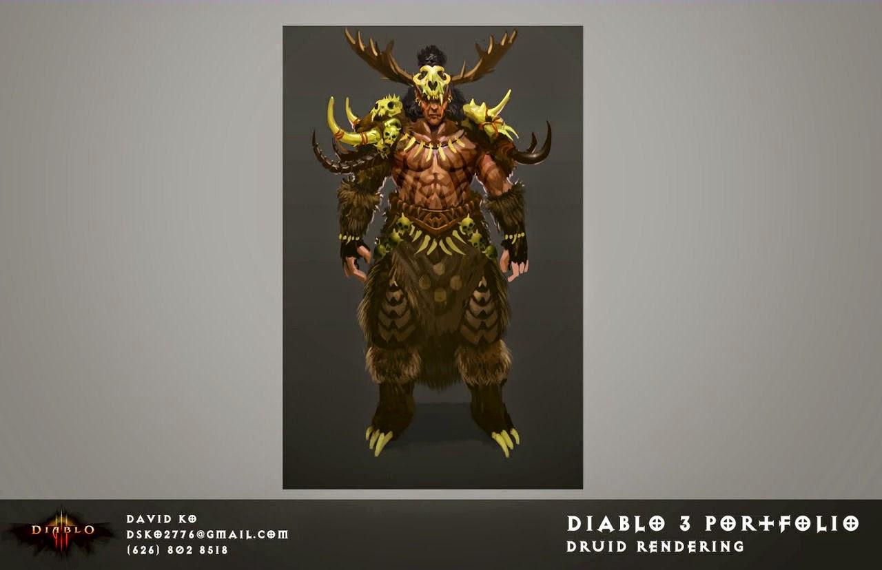 Diablo  Build Druid Werewolf