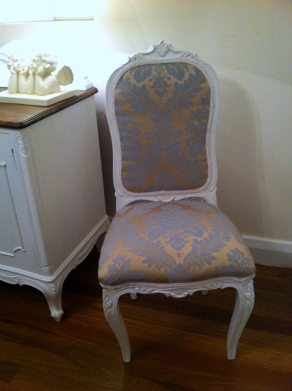 lilyfield life french louis chair makeover for sale. Black Bedroom Furniture Sets. Home Design Ideas