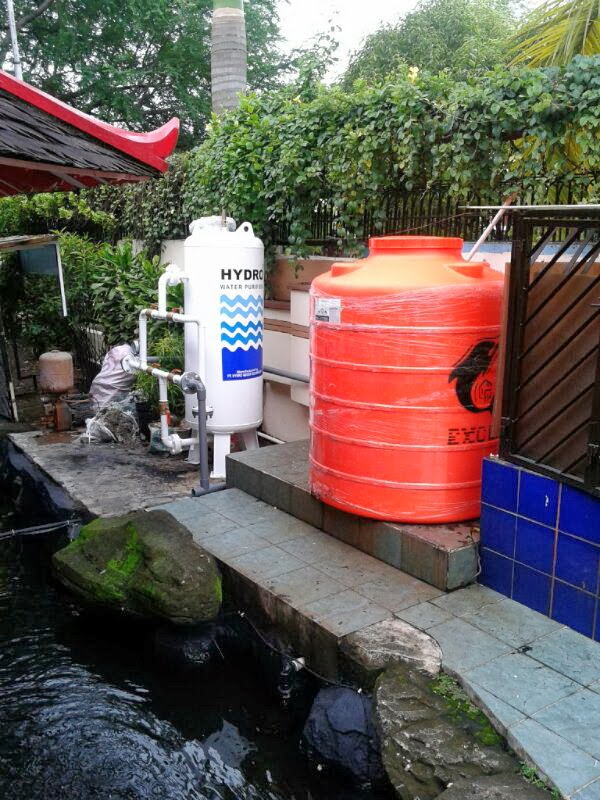 Filter air Industri di Perumahan Green Garden