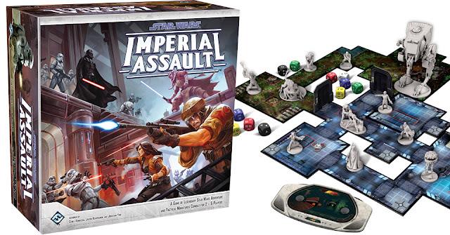 IMPERIAL ASSAULT: Un juego de aventuras y combate táctico de miniaturas en el universo de Star Wars.