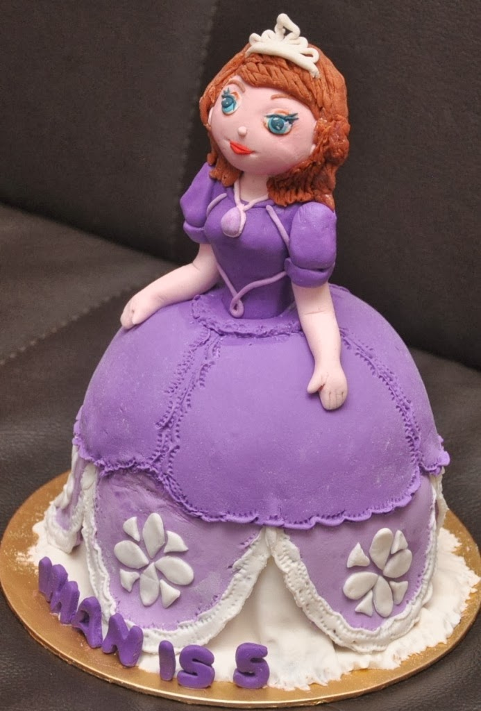 Pictures Of Princess Sofia Cake : Cakes And Cupcakes Johor Bahru  : Princess Sofia Cake and ...