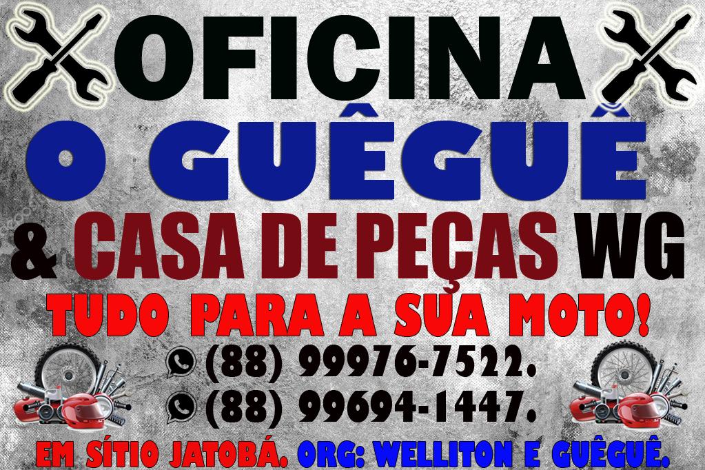 OFICINA E CASA DE PEÇAS WG.