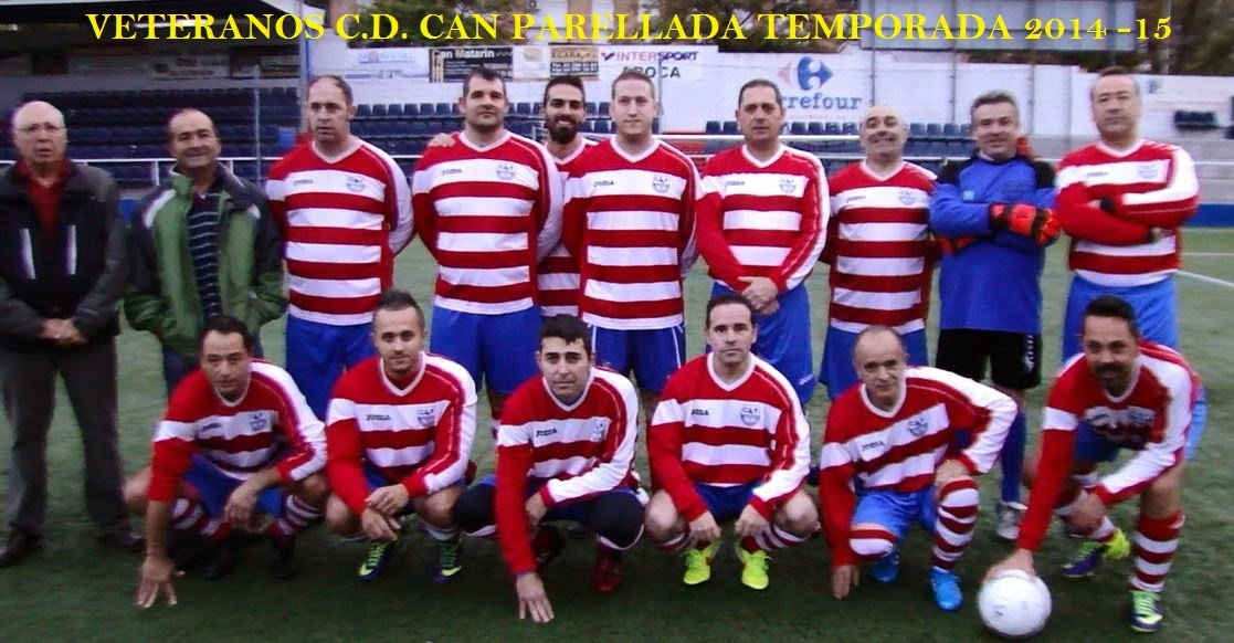 VETERANOS C.D.CAN PARELLADA