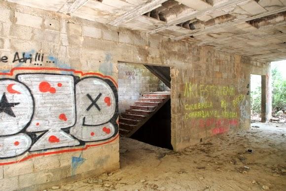 Abandoned hotel on Ibiza