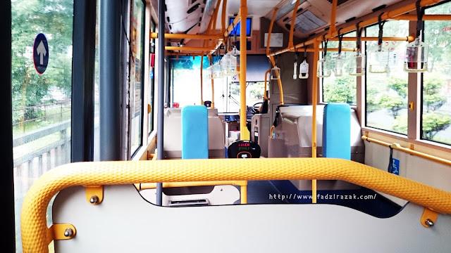 Rapid bus Shah Alam