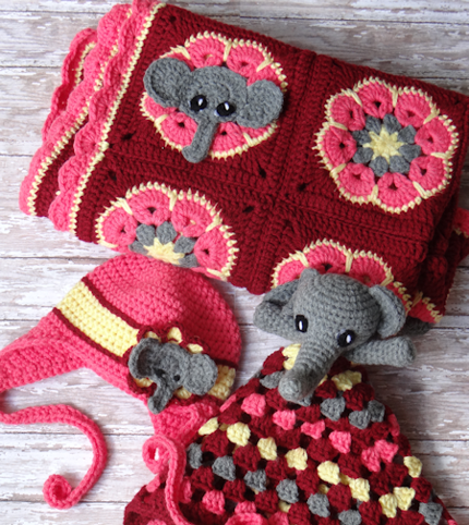 Elephant Square - Free Pattern