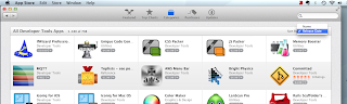 "Mac App Store Developer Tools ""Sort By"" Options"