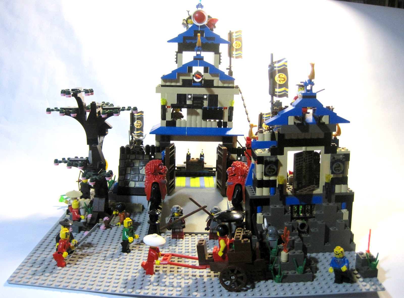 Japan It S A Wonderful Rife Lego Japanese Castle