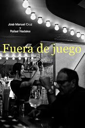 "Portada de mi novela ""Fuera de juego"" (2018)"