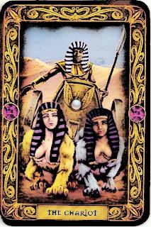 Tarot victory card