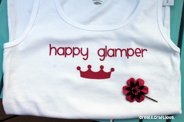 Happy Glampers via createcraftlove.com #glamping