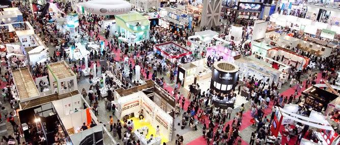 Beauty World Japan at Tokyo Big Sight, Ariake, Tokyo