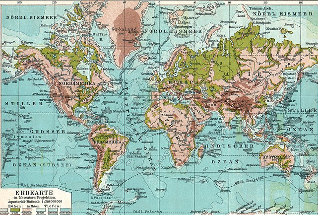 Graphics cottage vintage world map poster graphic vintage world map poster graphic gumiabroncs Image collections