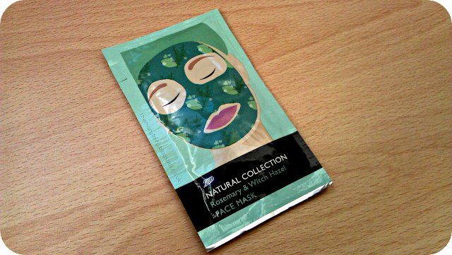 Natural Collection Rosemary & Witch Hazel mask