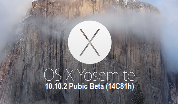 Download OS X Yosemite 10.10.2 Public Beta (14C81h) .DMG File via Direct Links