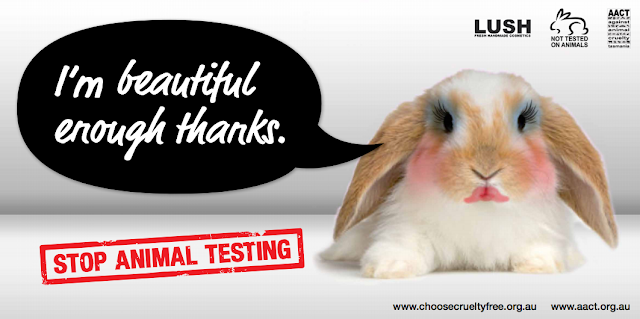 Stop animal testing on #makeup