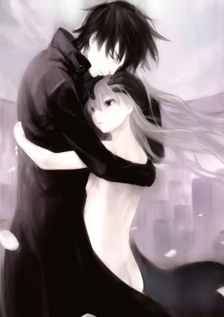 The world - Anime hug pics ...