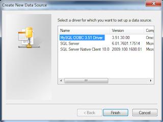 Cara Mudah Membuat DSN ODBC Koneksi Database