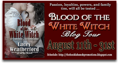 Blood of the White Witch Blog Tour: Interview & Giveaway with Lacey Weatherford