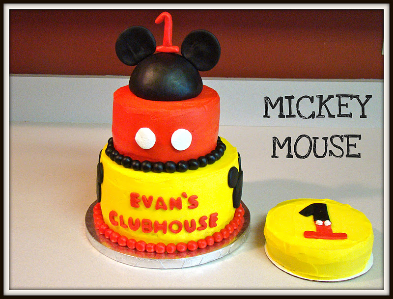 Simply Cake Mickey Mouse