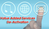 Value Added Services(VAS) Deactivation Process