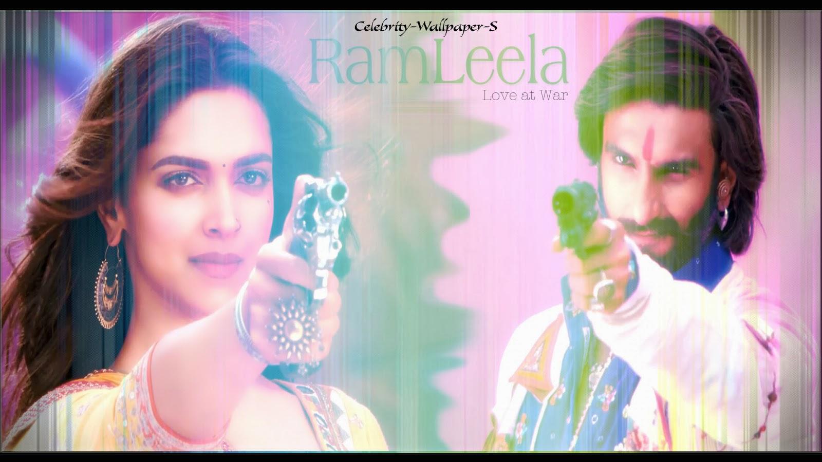 Ram Leela Wallpaper HD Ranveer Singh Deepika Padukone