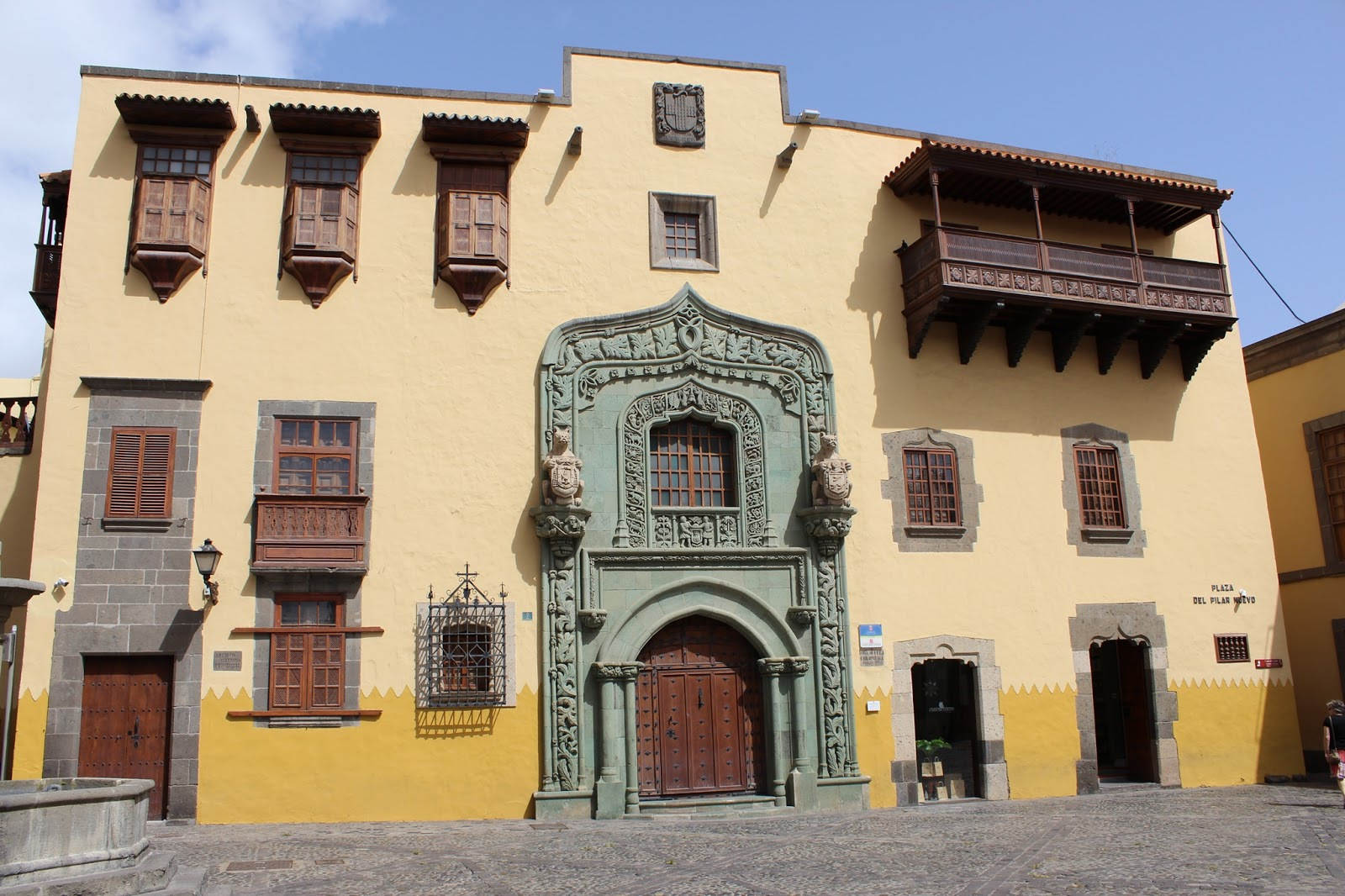 TheBlondeLion Casa Colon Travel Las Palmas Vegueta Triana Traveldiary