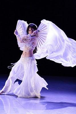 fan veil