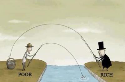 richesse et pauvreté illustré